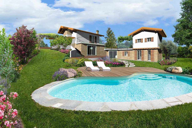 Progetti preventivi piscine e giardini for Progetto aiuole per giardino