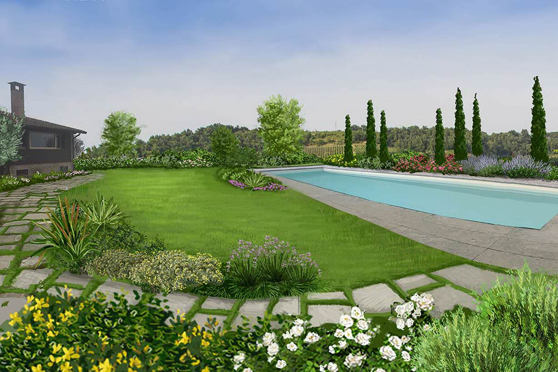 Progetti preventivi piscine e giardini for Progetti di giardini