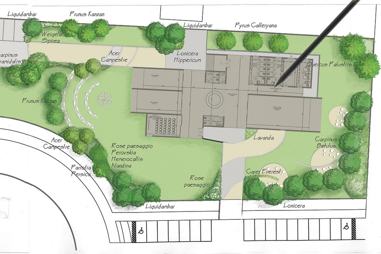 Progetti preventivi piscine e giardini - Progetto villa con piscina ...